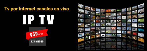 Ip Tv por Internet Canales en vivo