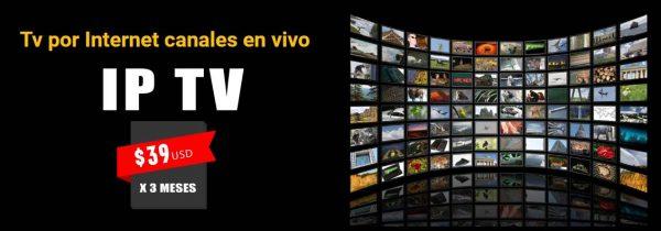 Ip Tv por Internet Canales en vivo