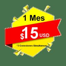 Tv por Internet canales en vivo, 15.00 usd – 1 Mes de Servicio